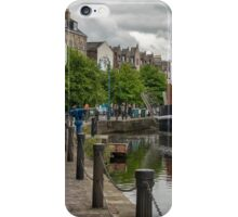 The Shores in Leith, Edinburgh iPhone Case/Skin