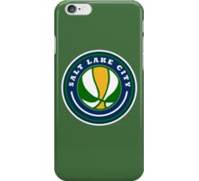 SALT LAKE CITY BASKETBALL iPhone Case/Skin
