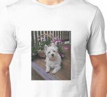 Winnie in the Flowers Unisex T-Shirt