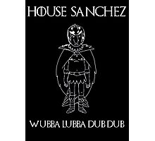 House Sanchez - Game of Thrones x Rick & Morty Mashup Photographic Print