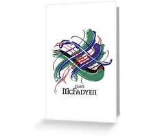 Clan McFadyen  Greeting Card