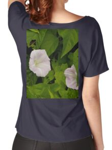 Sea Bindweed, Muckross Head, Donegal Women's Relaxed Fit T-Shirt