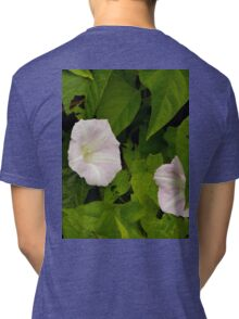Sea Bindweed, Muckross Head, Donegal Tri-blend T-Shirt