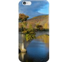 Bridge of Flowers in Shelburne Falls, Massachusetts. iPhone Case/Skin