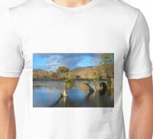 Bridge of Flowers in Shelburne Falls, Massachusetts. Unisex T-Shirt