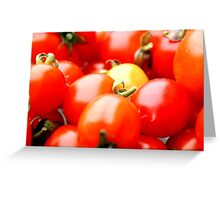 Tomato Delight Greeting Card