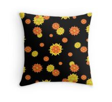 Floral Print Modern Style Pattern  Throw Pillow