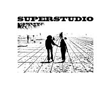 Superstudio Architecture t shirt Photographic Print