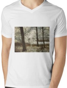 The Frozen Marsh Mens V-Neck T-Shirt