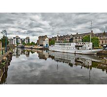 The Shores in Leith, Edinburgh Photographic Print