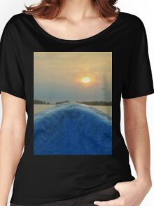 Going to the Sunset Women's Relaxed Fit T-Shirt