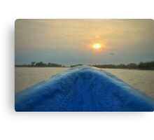 Going to the Sunset Canvas Print