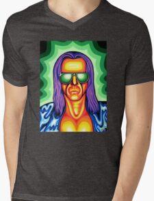 Cosmic Basil Mens V-Neck T-Shirt