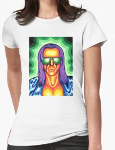 Cosmic Basil Womens Fitted T-Shirt