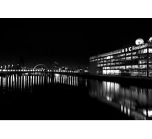 The Clyde at Night Photographic Print