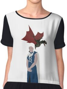Game Of Thrones - The mother of dragons Chiffon Top