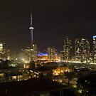 Toronto at Night by wolftinz