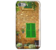 The Green Shutters  iPhone Case/Skin