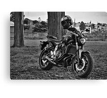Yamaha MT07 Canvas Print