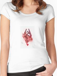 the will of talos Women's Fitted Scoop T-Shirt