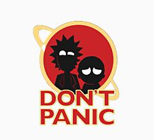 Rick and Morty T-shirt - Don't Panic  Unisex T-Shirt