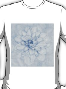 Floral Layers Cyanotype T-Shirt