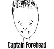 Captain Forehead by Sculder1013