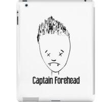 Captain Forehead iPad Case/Skin
