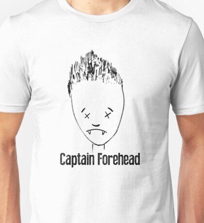 Captain Forehead Unisex T-Shirt