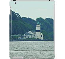 Cloch Lighthouse, Gourock, River Clyde, Scotland  iPad Case/Skin