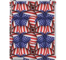 Modern Usa Flag Pattern iPad Case/Skin