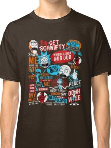 Rick and Morty T-shirt - get your funny shirt  Classic T-Shirt