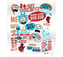 Rick and Morty T-shirt - get your funny shirt  Poster