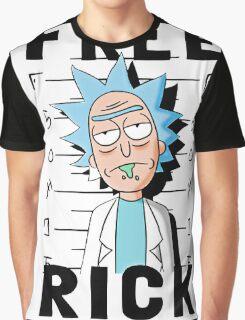 Rick and Morty T-shirt - Funny Free Rick  Graphic T-Shirt