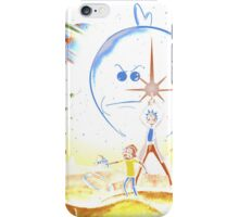 Rick and Morty T-shirt - funny shirt 2  iPhone Case/Skin