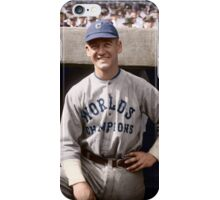 George Burns, Cleveland Indians 1921 iPhone Case/Skin
