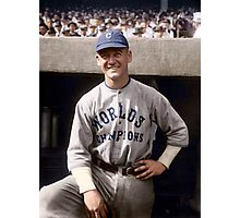 George Burns, Cleveland Indians 1921 Photographic Print