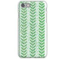 Leaf seamless  transparent pattern. Nature  fresh  background. iPhone Case/Skin