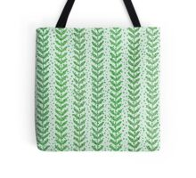 Leaf seamless  transparent pattern. Nature  fresh  background. Tote Bag