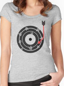 Arrow Record Women's Fitted Scoop T-Shirt