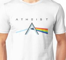 ATHEIST - A prism for seeing the light (Light backgrounds) Unisex T-Shirt