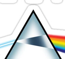 ATHEIST - A prism for seeing the light (Light backgrounds) Sticker