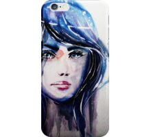 The Universe in her eyes iPhone Case/Skin