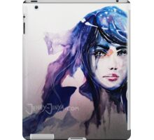 The Universe in her eyes iPad Case/Skin