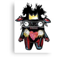 Basquiat Monster Canvas Print