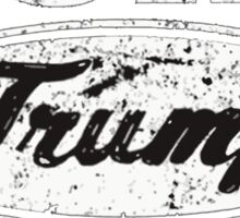 Built Trump Tough Sticker