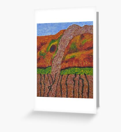 021 Abstract Landscape Greeting Card