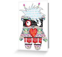 Warhol Monster Greeting Card