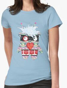 Warhol Monster Womens Fitted T-Shirt
