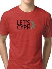 LetsCyph-Tall Dark Tri-blend T-Shirt
